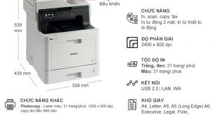 Nạp mực máy in Brother mfc-l8690cdw