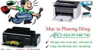 Đổ mực máy in tại Vương Thừa Vũ